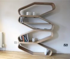 unique style wall mount shelf design