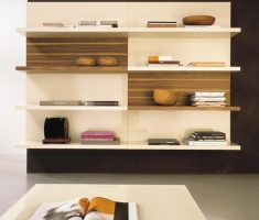 wall mount bookshelf design decor