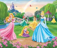 wallpaper disney princess bedroom chinderella white snow and more