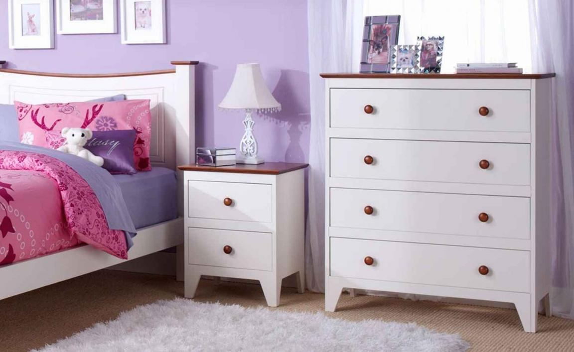 White cabinet with drawers for girls bedroom furniture for Girls bedroom furniture white