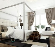 white wood canopy beds for modern canopy bedroom