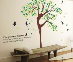 wisdom female removable wall decals inspirations