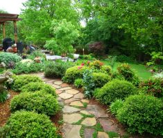 wonderful backyard landscaping ideas with step paths