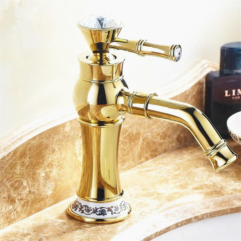 wonderfull-golden-bathroom-faucets-modern-design