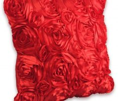 wonderfull rose red throw pillow covers design