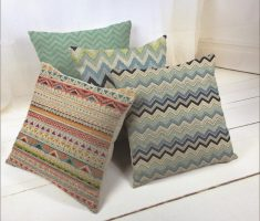 zigzag throw pillow covers design