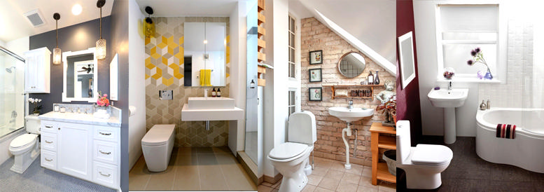 3 easy steps to remodelling your small bathroom for Steps to bathroom remodel