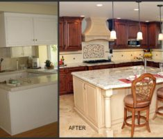 adorable kitchen remodelling before after