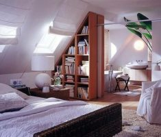 attic storage ideas bedroom and book shelve storage