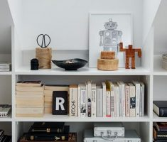 attic storage ideas book shelve and storage