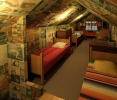 attic storage ideas for kids bedroom