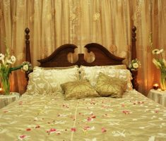 bedroom wedding room decorations gold theme