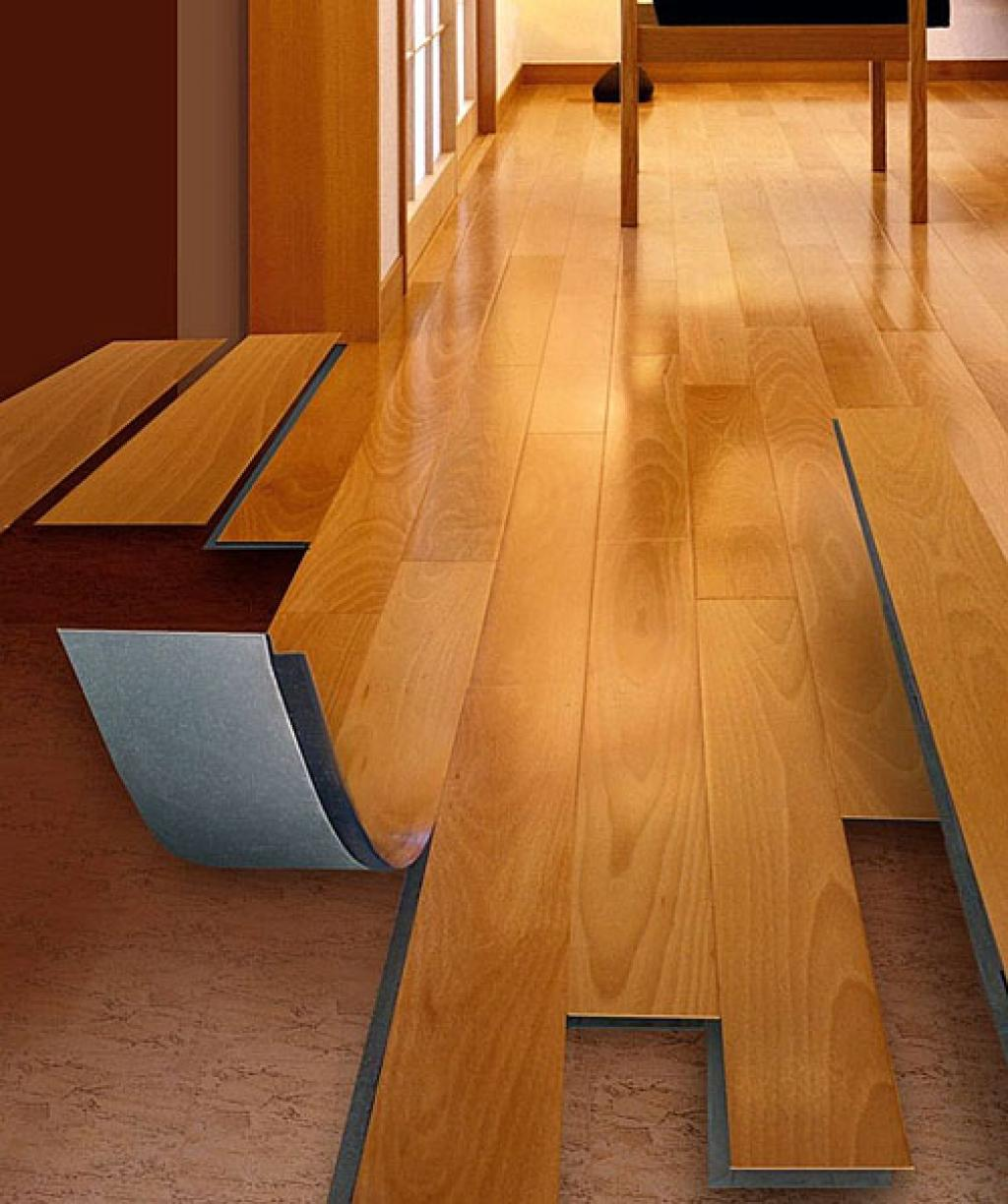 Allure flooring installation guideline for Wood linoleum