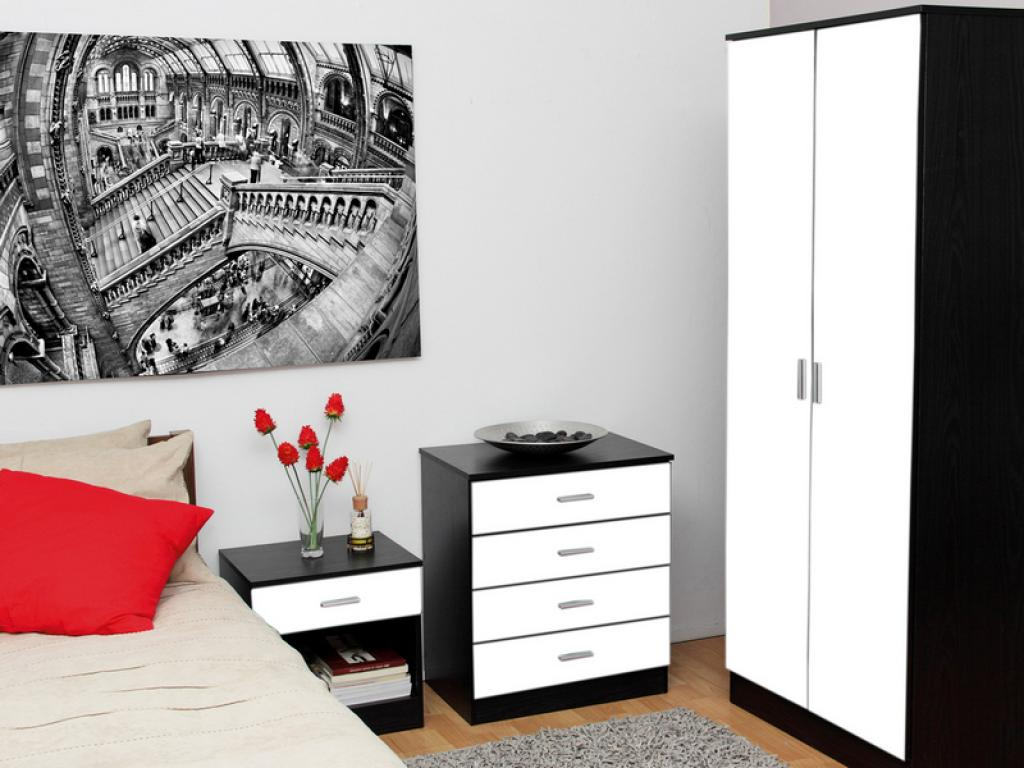 Small white bedroom furniture