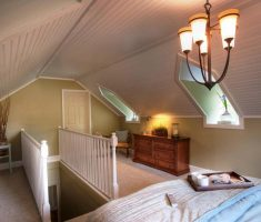 captivating attic storage ideas for single bedroom