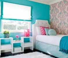 charming blue modern rooms for teenage girls