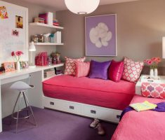 comfortable modern rooms for teenage girls