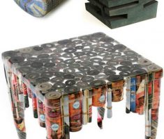creative diy recycled furniture paper