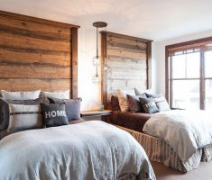 creative wooden unique headboard ideas bedroom