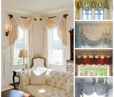 custom modern valances window treatments