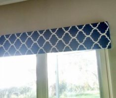 diy flat valances window treatments