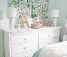 diy alphabet decor for girls white bedroom furniture