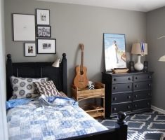 fabulous black boys room for small space