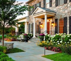 fantastic modern landscaping ideas for front yard with porch