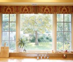 flat valances window treatments