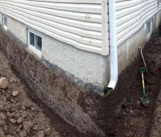 french drain basement foundation4