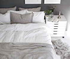gloss white bedroom furniture for apartment