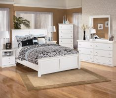 gloss white bedroom furniture with light hardwood and white cabinet