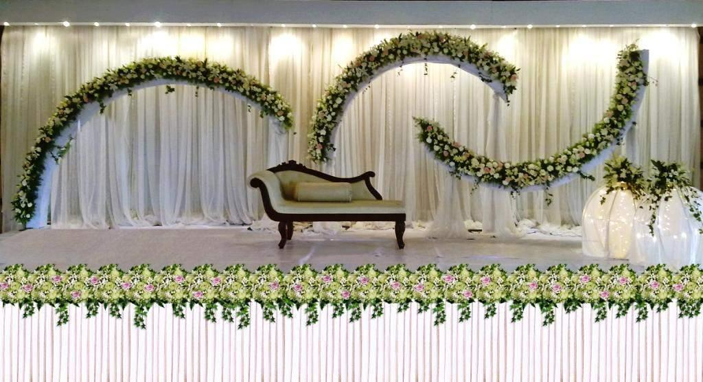 Minimalist modern kerala wedding room decorations home Decoration for wedding room