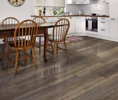 modern allure flooring for kitchen and dining area