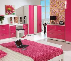 modern rooms for teenage girls pink and white theme