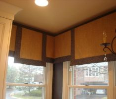 panel flat valances window treatments