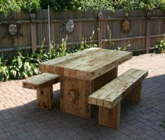 patio recycled wood furniture outdoor
