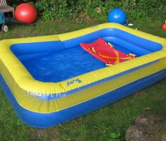 plastic garden pool medium size for kids