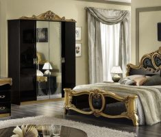queen black and gold bedroom decorating ideas