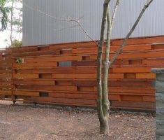 red wood privacy cheap fence panels