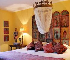rustic mexican interior design bedroom for mexican style home decor