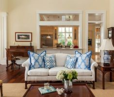 small-living-room-modern-victorian-style-interior-design-with-blue-pillow-sofas