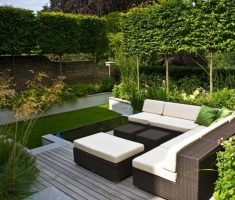 small-rattan-corner-sofa-on-small-yard