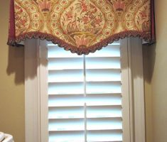 small valances window treatments