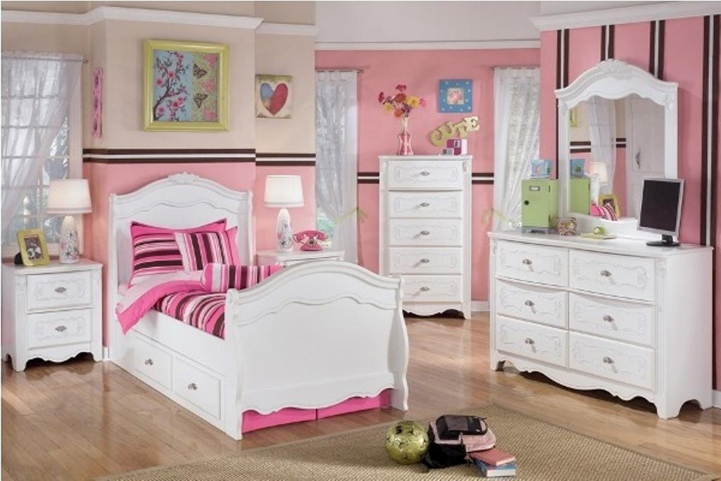 20 beauty white bedroom furniture for girls for Girls bedroom furniture white