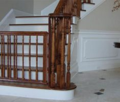 wooden baby gates stairs