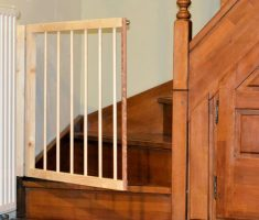 wooden baby gates stairs easy diy