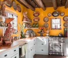 all white mexican kitchen furniture with mexican interior design