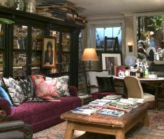 alluring bohemian interior design ideas reading room