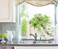 alluring kitchen window treatment ideas